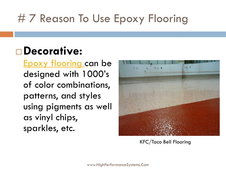 # 7 Reason To Use Epoxy Flooring