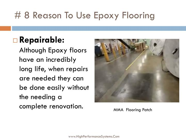# 8 Reason To Use Epoxy Flooring