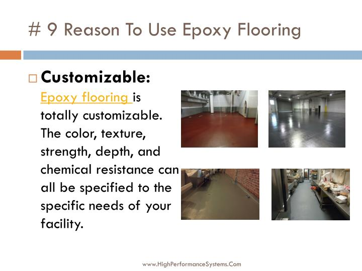 # 9 Reason To Use Epoxy Flooring