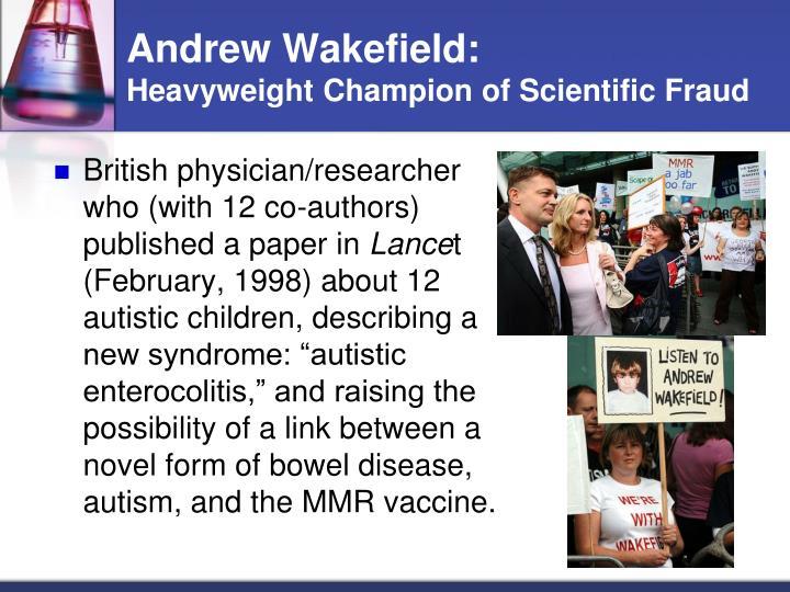 Andrew Wakefield: