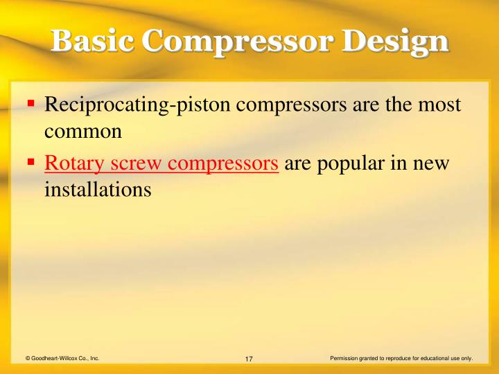 Basic Compressor Design