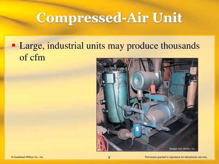 Compressed-Air Unit