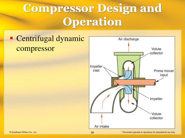 Centrifugal dynamic compressor