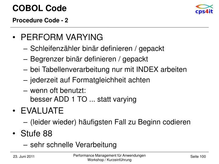 COBOL Code