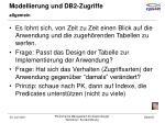 modellierung und db2 zugriffe23