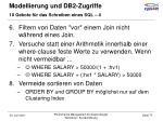 modellierung und db2 zugriffe33