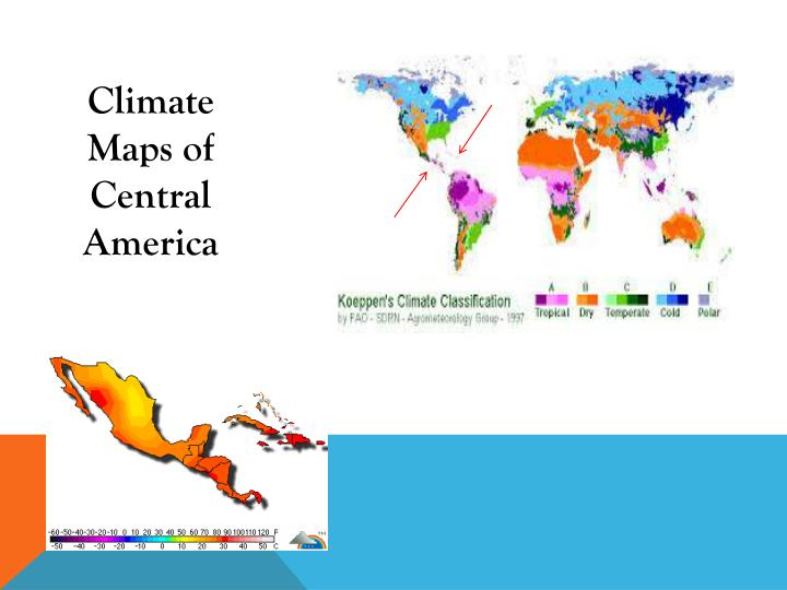 Climate Maps of Central America