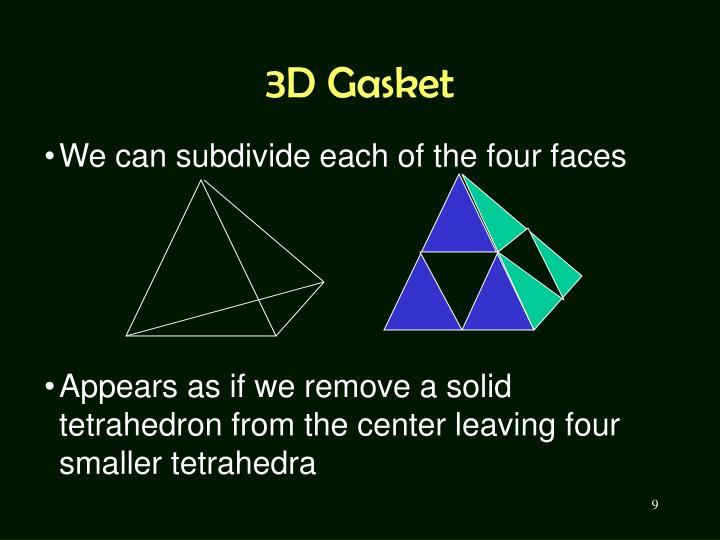 3D Gasket