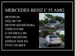 mercedes benz c 55 amg