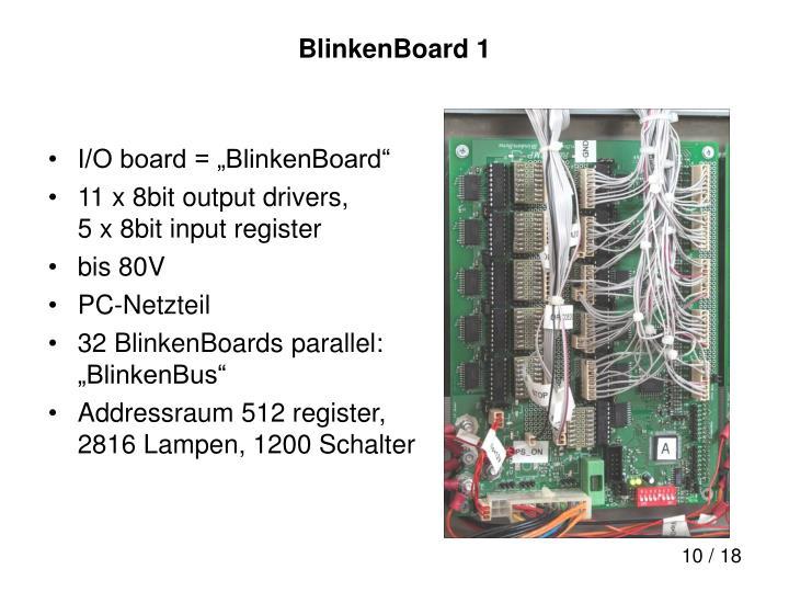 BlinkenBoard 1