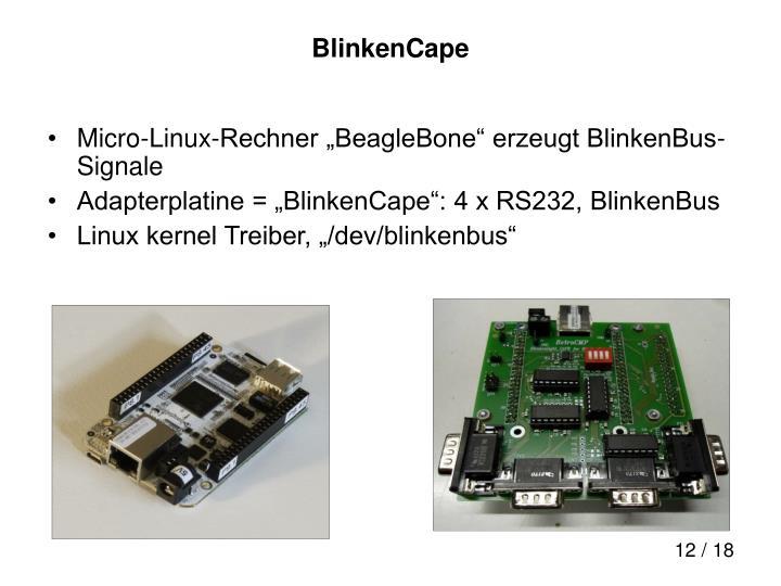 BlinkenCape