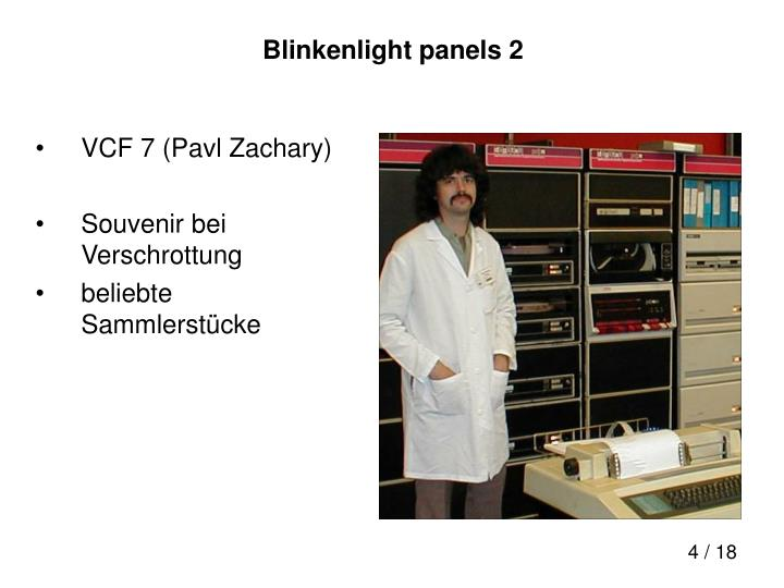 Blinkenlight panels 2