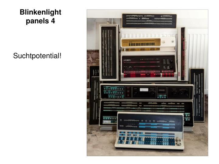 Blinkenlight panels 4