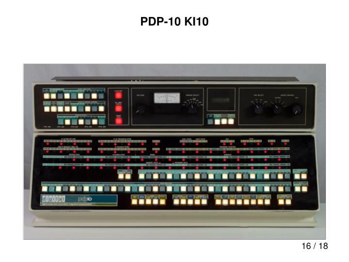 PDP-10 KI10