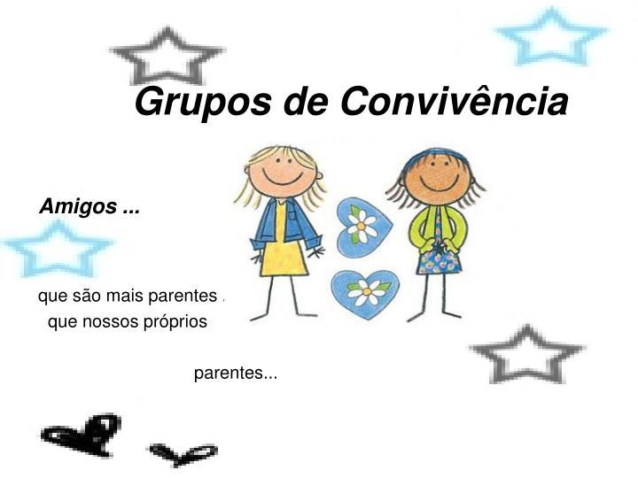 Grupos de Convivência