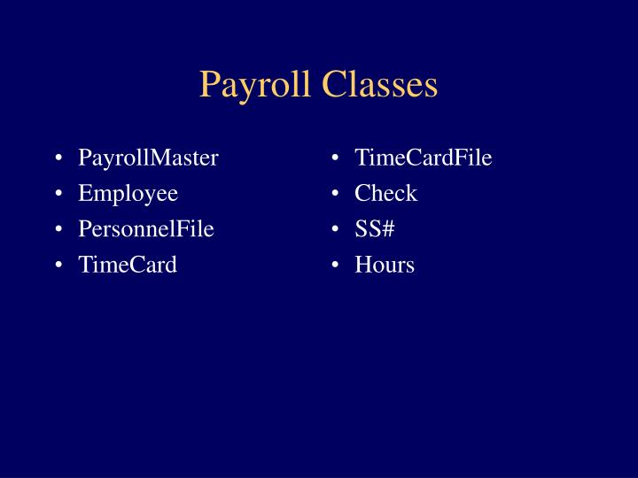 PayrollMaster