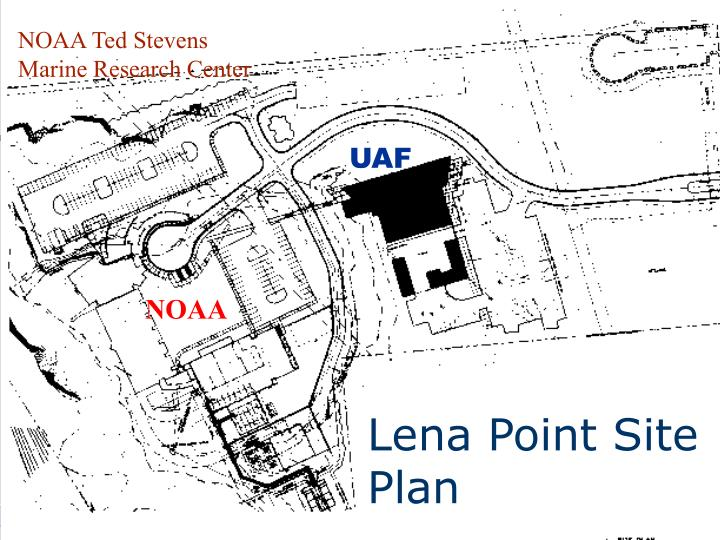 Lena Point Site Plan