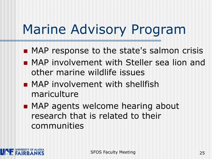 Marine Advisory Program