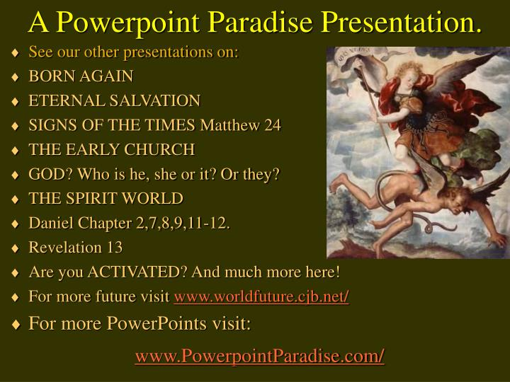A Powerpoint Paradise