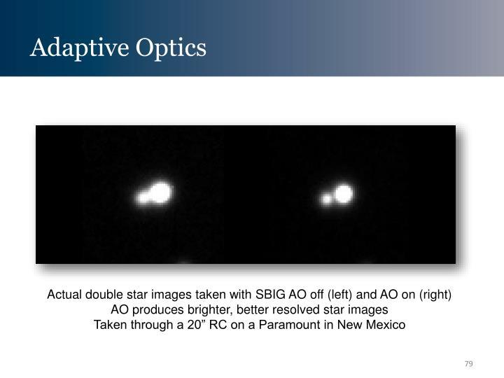 Adaptive Optics
