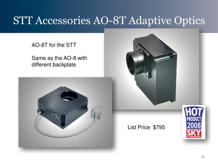 STT Accessories AO-8T Adaptive Optics
