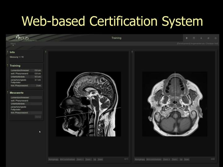 Web-based Certification System