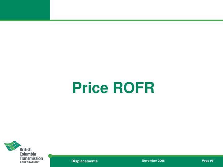 Price ROFR