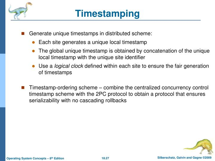 Timestamping