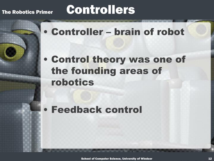 Controller – brain of robot