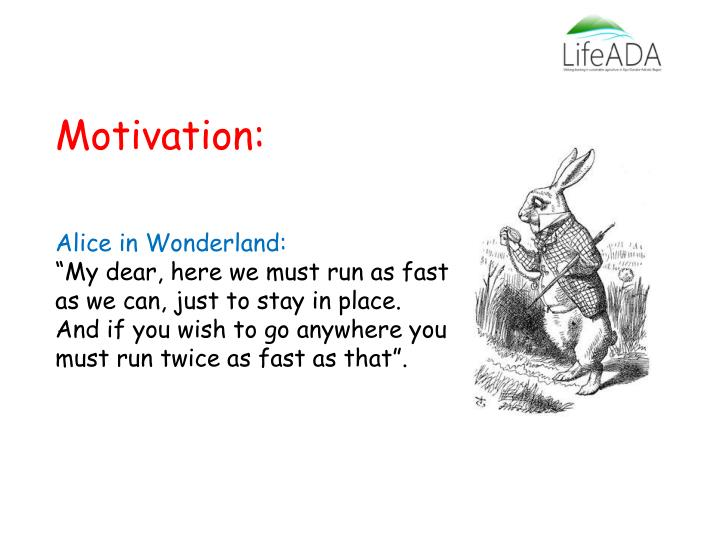 Motivation: