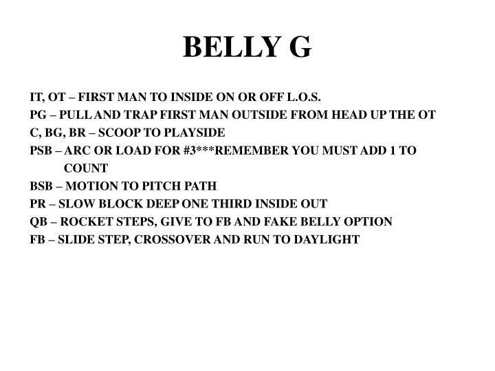 BELLY G