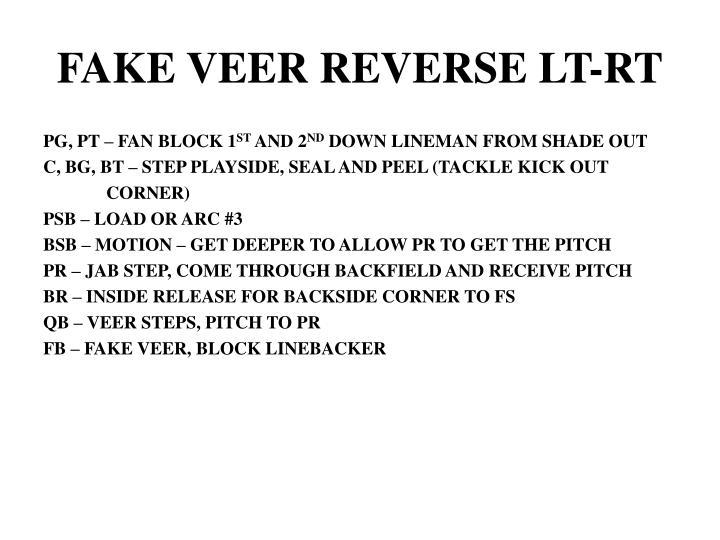 FAKE VEER REVERSE LT-RT