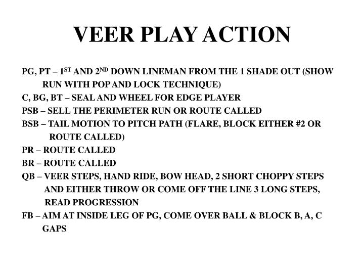 VEER PLAY ACTION