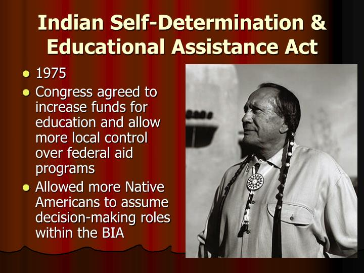 Indian Self-Determination & Educational Assistance Act