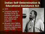indian self determination educational assistance act