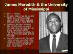james meredith the university of mississippi