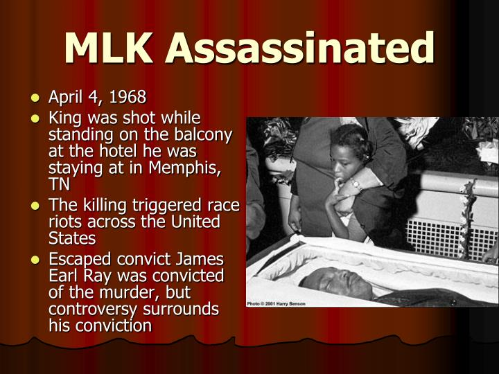 MLK Assassinated