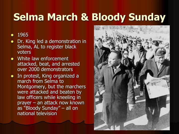 Selma March & Bloody Sunday