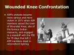 wounded knee confrontation
