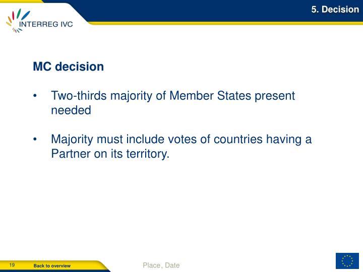 5. Decision