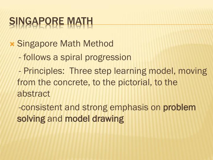 Singapore Math Method