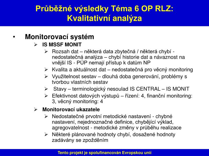 Monitorovací systém
