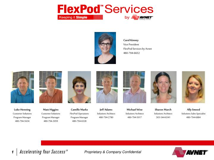 FlexPod Services by Avnet