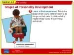 stages of personality development2