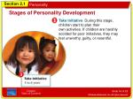stages of personality development3