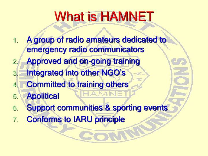 What is HAMNET