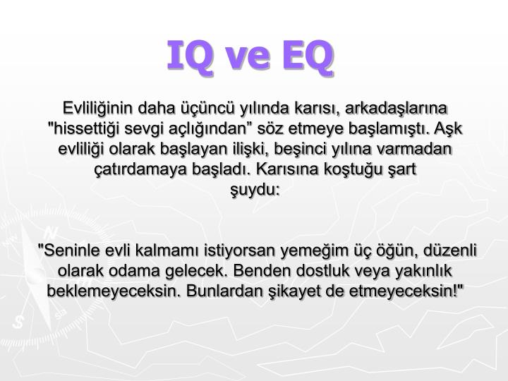 Iq ve eq