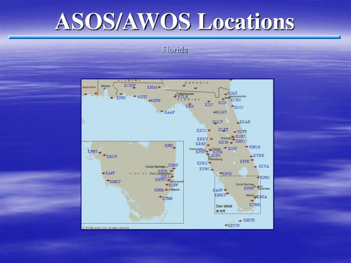 ASOS/AWOS Locations