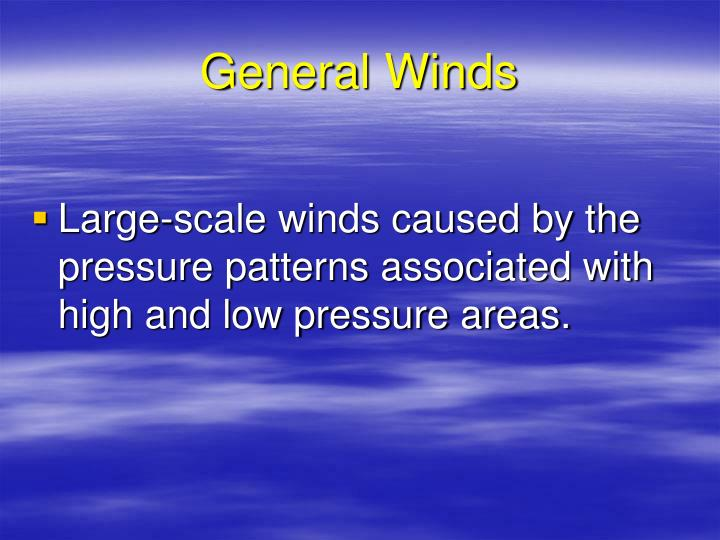 General Winds