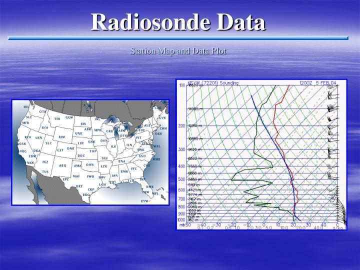 Radiosonde Data